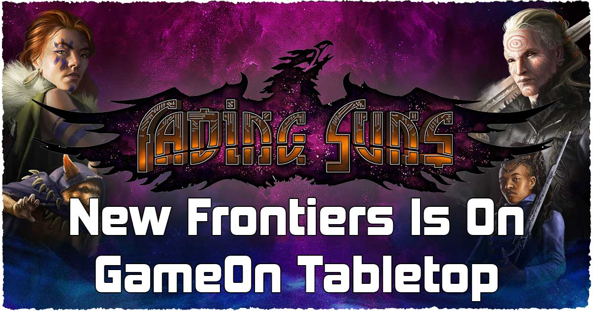 Fading Suns New Frontiers Crowdfunding Launch