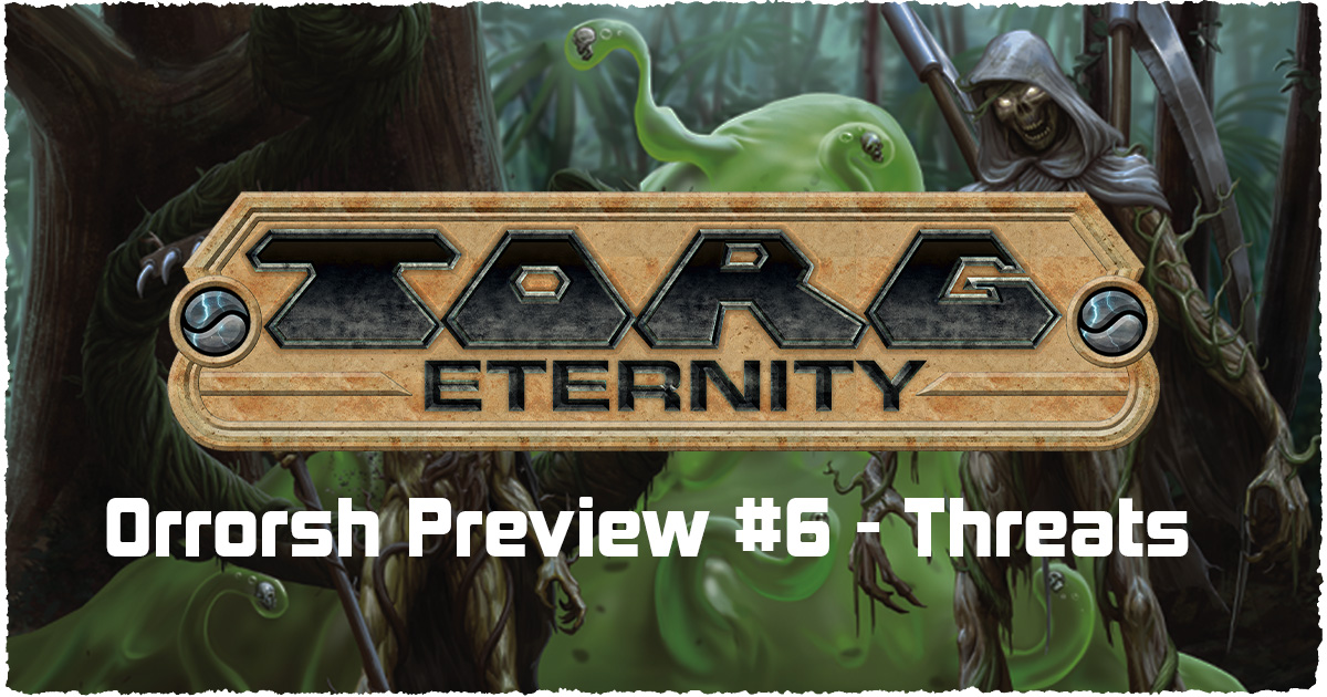 Orrorsh Preview #6 – Threats