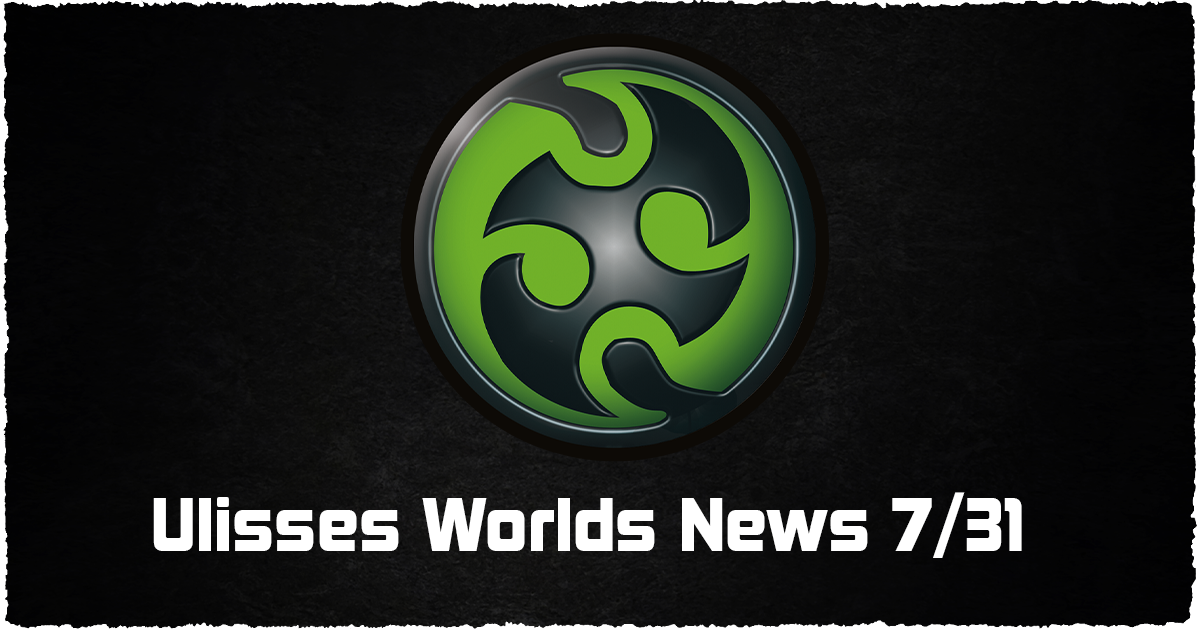 Ulisses Worlds news 10/16